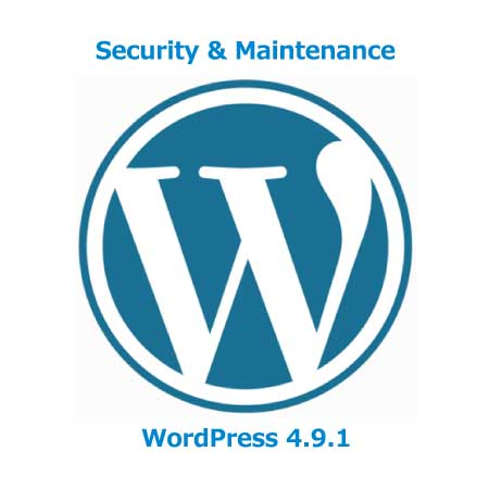 Security & Maintenance WordPress 4.9.1