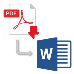 PDFをWordで編集