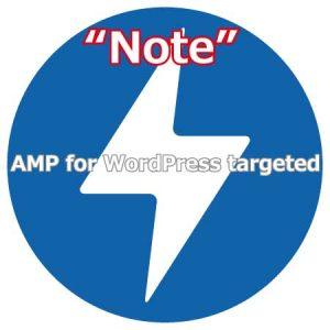 注意!AMP for WordPressが標的に
