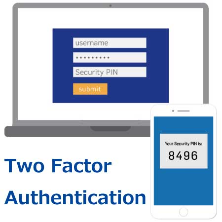 2要素認証 Two Factor Authentication