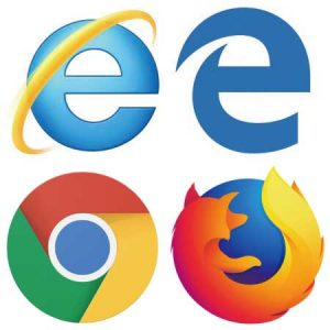 IE Edge Chrome Firefox ブラウザ