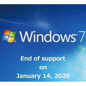 Windows 7 2020年1月14日サポート終了