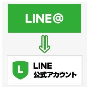 LINE@はLINE公式アカウントへ