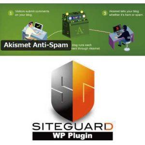 Akismet Anti-SpamとSiteGuard